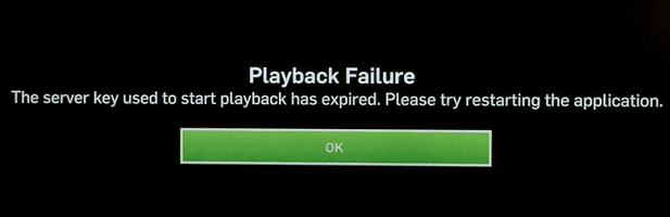 Hulu Playback Failure Error