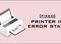 fix printer in error state