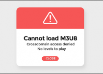cannot load m3u8
