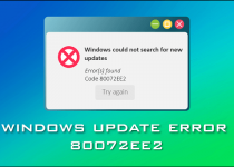 Windows Update Error 80072EE2