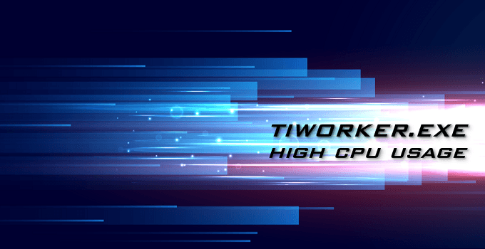 tinworker.exe high cpu usage